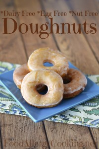 Dairy Free Egg Free Donuts