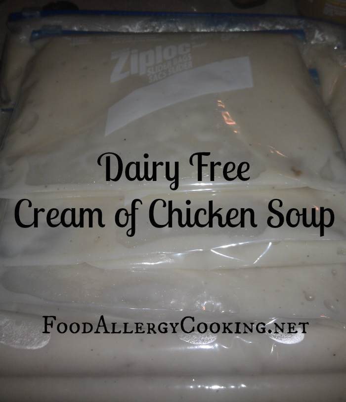 Dairy Free Cream of Chicken Soup Recipe