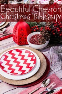 Chevron Tablescape