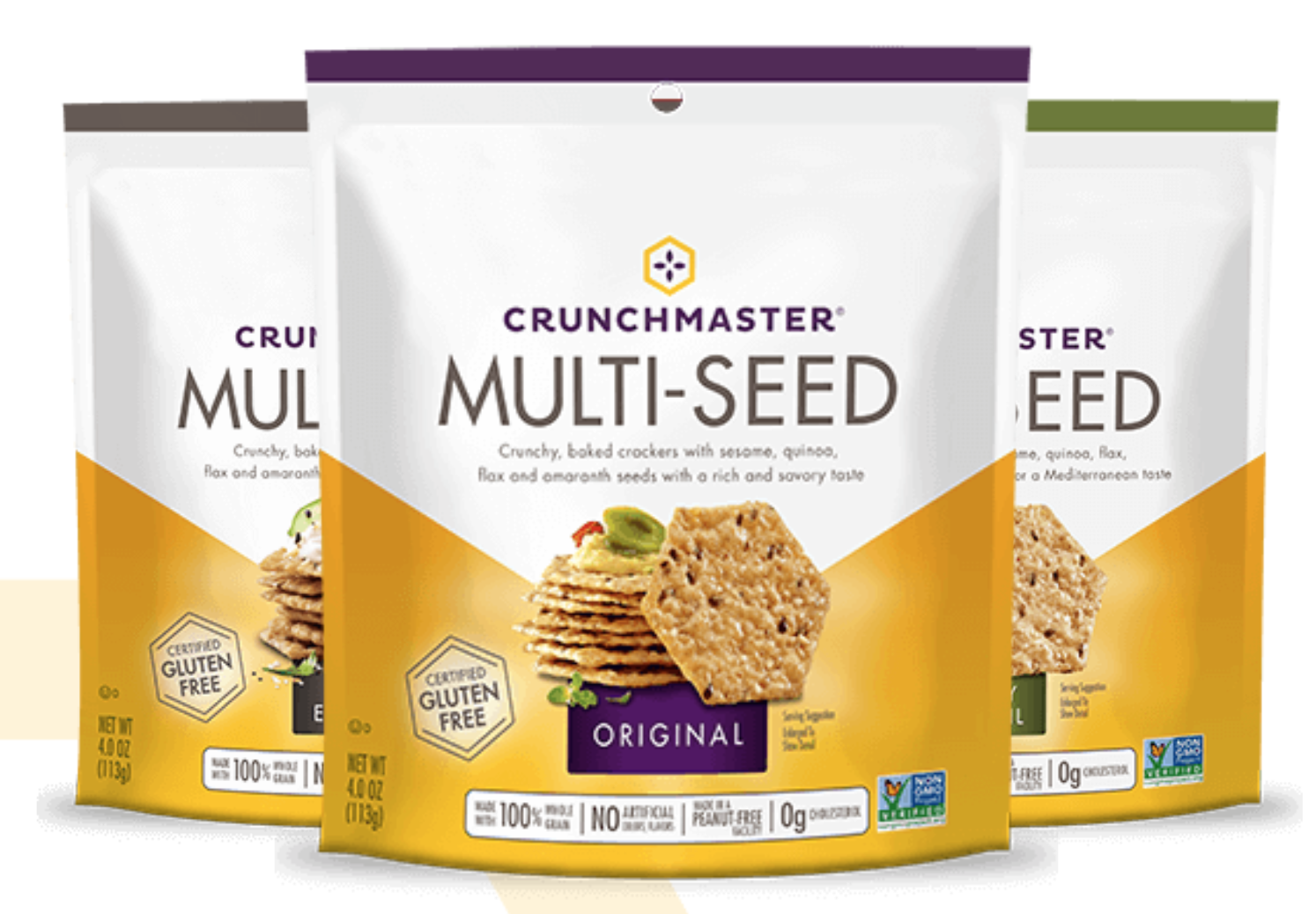 Crunchmaster Crackers FREE at Publix  – NO Gluten or Peanut